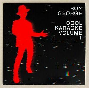 BOY GEORGE * COOL KARAOKE VOLUME 1 * UK 13 TRK CD * BN! * KIM WILDE * ARAF GOREN