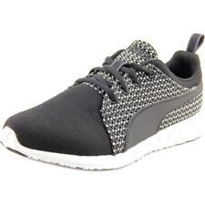 Zapatillas deportivas de mujer PUMA de tacón bajo (menos de 2,5 cm) de color principal negro