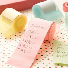 New Cute Sticky Note Roll Sticker Bookmark Marker Memo Pad Index Tab Paper