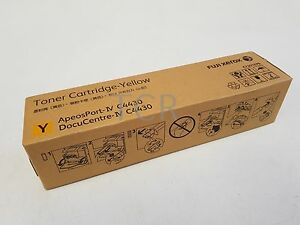 Fuji Xerox CT201679 Toner Cartridge Yellow DocuCentre IV C4430