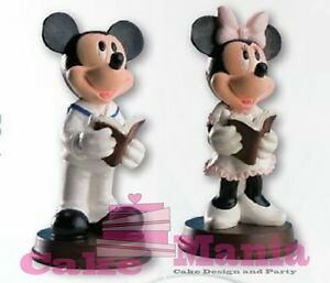 Cake Topper Holy Communion Minnie Mickey Mouse Sopratorta Disney Confirmation