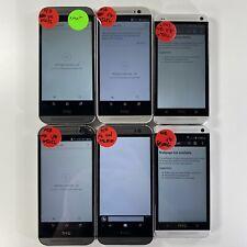 Lot of 6 Mixed HTC phones Verizon Wireless *Check IMEI*