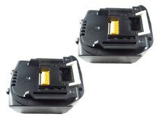 2 Stück Makita Akku 14,4 V 4,0Ah BL1440 BL1430 LXT Li-Ion 4000 mAh BL1450 BL1415