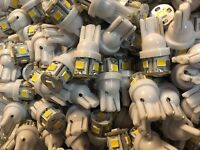 (6)WARM WHITE 8V-LED LAMP/KR-6400/KR-7400/KR-5400/FREE 8v WIRE/ KR-3200/Kenwood