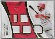 Brandon Phillips, Reds—2017 Immaculate Collection Immaculate Material—67/99