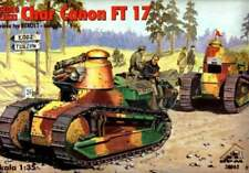 RENAULT FT-17 CANON W/BERLIET TURRET(U.S, SPANISH, FRENC, RPM, 35062, SCALE 1/35