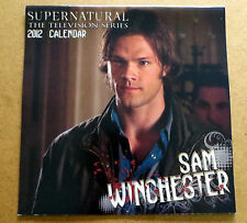 Supernatural Calendar 2012  Jared Padalecki Sam Winchester NEW