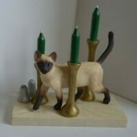 Border Fine Arts .Cats Round The House. A7616Dinner Guest A Siamese Cat
