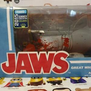 Jaws Great White Shark & Quint Bloody SDCC 2015 Summer Reaction Funko Vinyl