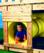 SWING SET STUFF TOWER TUNNEL YELLOW park playground wood accessories fort 0170
