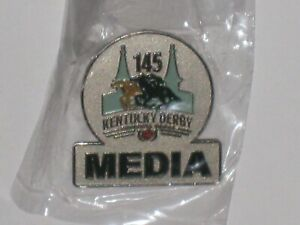 2019 KENTUCKY DERBY 145th OFFICIAL MEDIA PIN
