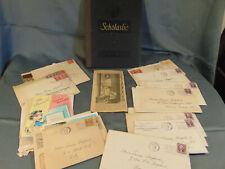 Family history cards letters birth death Clem Shepherd 1938 Atlanta Georgia