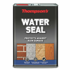 Thompsons Type Water Seal Colour Clear 5ltr Pack Case 1 Waterproof Barrier Long
