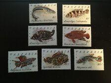 1992 TANZANIA - Set Fish - Scott #816-822 - MNH** - A015