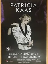 Patricia KAAS 2017 Berlin + + Orig. Concert poster + + concert affiche a1 NEUF