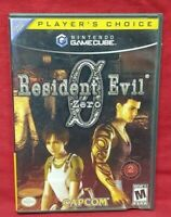 Resident Evil Zero 0  Nintendo GameCube  Working Game Complete