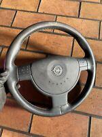 Opel Corsa C Volante IN Pelle Airbag Volante 3-Speichen