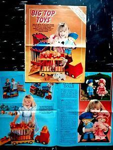Jean Greenhowe Toys Sewing PATTERN, Mini-Animals, Nursery Rhyme Dolls