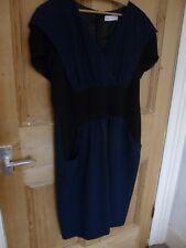 Ladies dress by Trinny and Susannah sz xl dark blue mix
