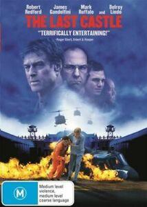 The Last Castle DVD Prison Escape Movie  Robert Redford J Gandolfini • FREE POST