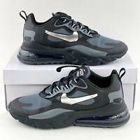Nike Air Max 270 React Winter Black Silver Men's Size 11.5 Shoes CD2049 001