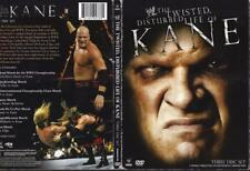 DVD:  3-DISC WWE THE TWISTED DISTURBED LIFE OF KANE