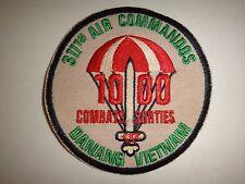 "USAF 311th Air Commandos Squadron ""1000 COMBAT SORTIES"" DANANG Vietnam War Patch"