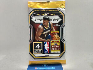 2020-21 Panini Prizm Basketball NBA Cards SEALED Blaster Pack 2021 IN UK!