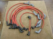 NOS Roush 1987 1995 Mustang Red Plug Wires 5.0 GT 1989 1990 1991 1992 1993 1994