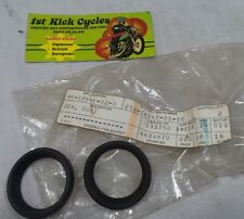 NOS YAMAHA 1975 RD250 RD350 XS500 DUST SEAL 214-16347-01 (PACK OF 2)