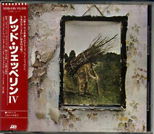 LED ZEPPELIN IV JAPAN 1st Press 1986 CD 32XD335 W/Sticker Obi 3200Yen RARE!