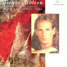 """Michael Bolton 12"""" Love Is A Wonderful Thing - Holland (VG/EX+)"""