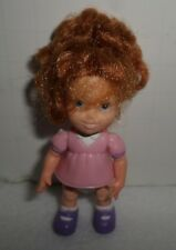 Fisher Price Loving Family Little Girl Pink Outfit With Red Hair