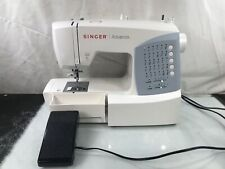 Singer Advance 7422 Sewing Machine With Pedal & Dust Cover