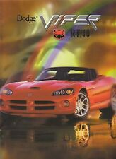 DODGE VIPER RT/10 Mappe Original Chrysler Museum USA 2002 ++++++++++++++++++++++