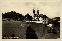 Passau Bayern alte Postkarte ~1930/40 Partie an der Maria Hilfskirche
