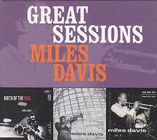 MILES DAVIS - great sessions BOX 3 CD