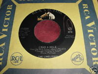 THE LIMELIGHTERS - I HAD A MULE / THE RIDDLE SONG - 45