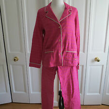 Cute Juicy Couture Hot Pink Plaid Pajamas – Extra Small – NWT $148