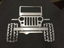 Offroad Buggy Mud Tires - Metal Wall Art Decor Bar Man cave Beer 30