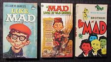 1960/73/73 MAD Magazine Paperback Like Old Movies Brothers FN-/FN 18th/1st/6th