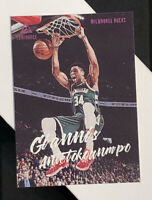 2019-20 Panini Chronicles #155 Giannis Antetokounmpo Luminance Pink Parallel