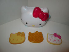 Hello Kitty Pretend Play Food Toaster Pop Tart Waffle Toast Kitchen Toy
