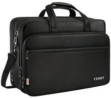 17 inch Laptop Bag Travel Briefcase Shoulder Water Resistant Business Messenger