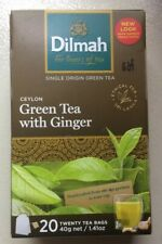 Ceylon Green Tea with Ginger - 20 Tea Bags 40 g net