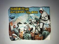 SOBRE TIPO MONTAPLEX -HOBBY PLAST SIBERIA INFIERNO HELADO Nº1013 JUGUETE ESPAÑOL