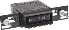 RetroSound Radiomodul Laguna mit schwarzem Display Motor-1 Retro Autoradio AUX
