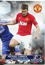 Premier Gold Soccer 13/14 Base Card #53 Michael Carrick