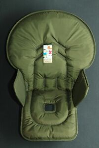 The olive seat pad cover for high chair Graco Contempo