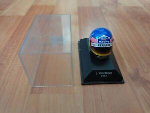 MINICHAMPS 1/8 CLASSIC JACQUES VILLENEUVE 1997 WILLIAMS F1 FORMULA 1 HELMET